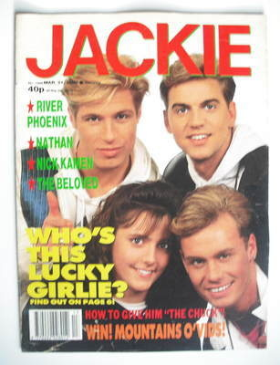 <!--1990-03-31-->Jackie magazine - 31 March 1990 (Issue 1369 - Big Fun cove