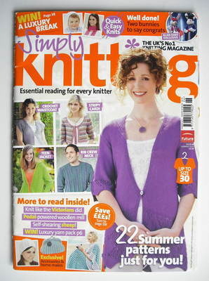 Simply Knitting magazine (Issue 68 - Summer 2010)