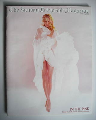 The Sunday Telegraph magazine - Daryl Hannah cover (24 February 2002)
