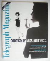 <!--1996-04-27-->Telegraph magazine - Angelina Jolie cover (27 April 1996)