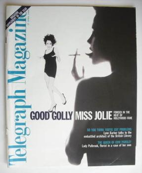 Telegraph magazine - Angelina Jolie cover (27 April 1996)