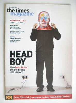 <!--2002-01-19-->The Times magazine - Head Boy cover (19 January 2002)
