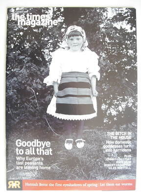 <!--2003-03-08-->The Times magazine - Goodbye To All That cover (8 March 20