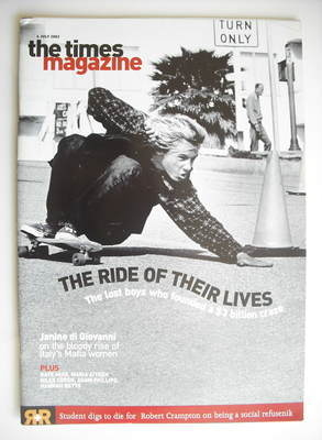 <!--2002-07-06-->The Times magazine - The Ride Of Their Lives cover (6 July
