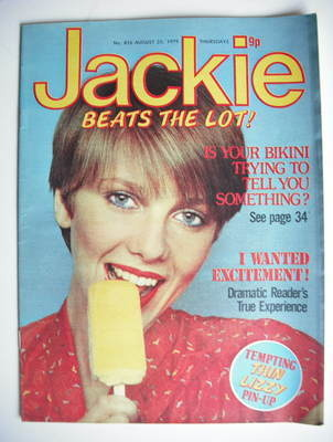 <!--1979-08-25-->Jackie magazine - 25 August 1979 (Issue 816)