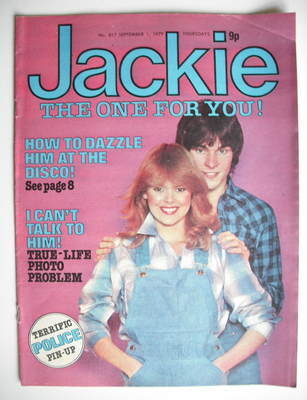 <!--1979-09-01-->Jackie magazine - 1 September 1979 (Issue 817)