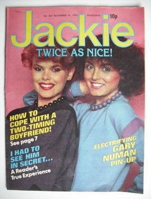 <!--1979-11-10-->Jackie magazine - 10 November 1979 (Issue 827)