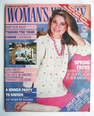 <!--1985-04-20-->Woman's Weekly magazine (20 April 1985 - British Edition)