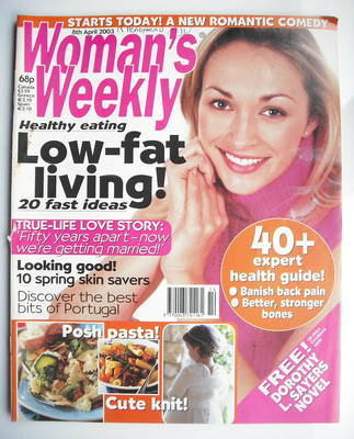 <!--2003-04-08-->Woman's Weekly magazine (8 April 2003)