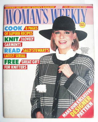 <!--1987-09-12-->Woman's Weekly magazine (12 September 1987 - British Editi