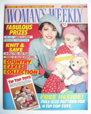 <!--1987-09-19-->Woman's Weekly magazine (19 September 1987 - British Editi