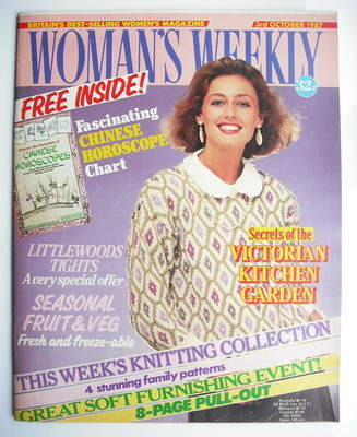 <!--1987-10-03-->Woman's Weekly magazine (3 October 1987 - British Edition)