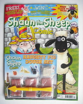 Shaun The Sheep comic (July 2008, Issue 17)