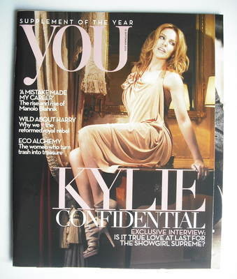 <!--2010-09-12-->You magazine - Kylie Minogue cover (12 September 2010)