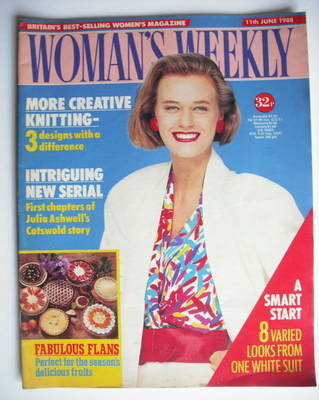 <!--1988-06-11-->Woman's Weekly magazine (11 June 1988 - British Edition)