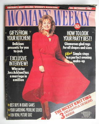 <!--1987-12-05-->Woman's Weekly magazine (5 December 1987 - British Edition