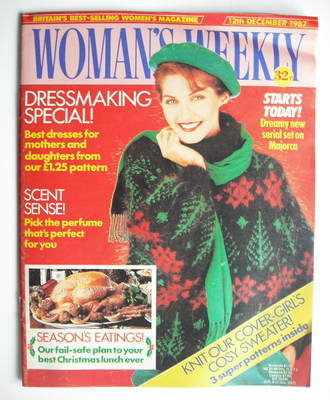 <!--1987-12-12-->Woman's Weekly magazine (12 December 1987 - British Editio