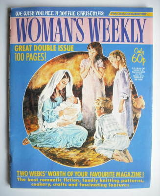 <!--1987-12-19-->Woman's Weekly magazine (19-26 December 1987 - British Edi