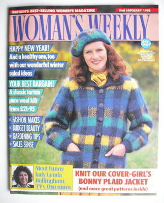 <!--1988-01-02-->Woman's Weekly magazine (2 January 1988 - British Edition)