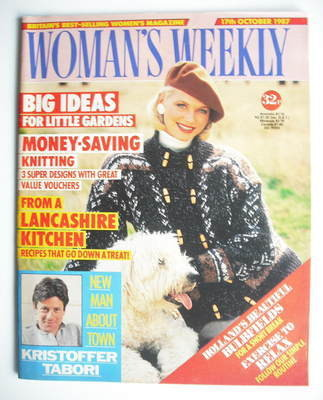 <!--1987-10-17-->Woman's Weekly magazine (17 October 1987 - British Edition