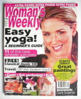 <!--2003-04-22-->Woman's Weekly magazine (22 April 2003 - Claire Sweeney cover)
