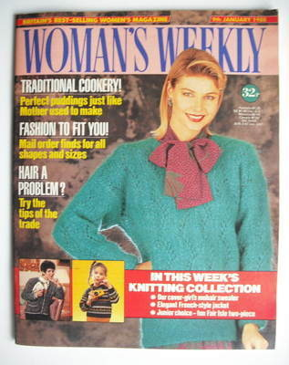 <!--1988-01-09-->Woman's Weekly magazine (9 January 1988 - British Edition)