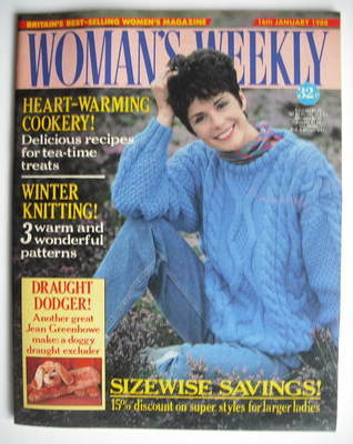 <!--1988-01-16-->Woman's Weekly magazine (16 January 1988 - British Edition