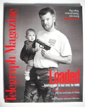 Telegraph magazine - Loaded cover (25 April 1998)