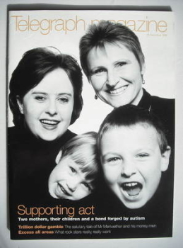 Telegraph magazine - Supporting Act cover (12 December 1998)