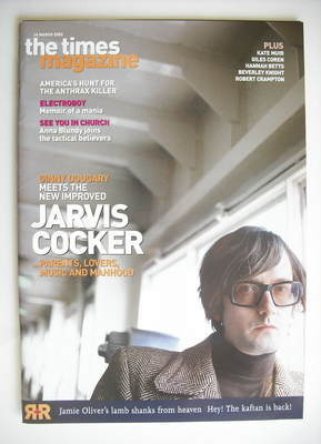 <!--2002-03-16-->The Times magazine - Jarvis Cocker cover (16 March 2002)