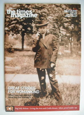 <!--2003-04-05-->The Times magazine - Great Strides For Womankind cover (5