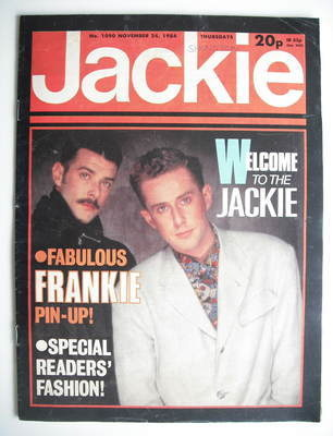<!--1984-11-24-->Jackie magazine - 24 November 1984 (Issue 1090)