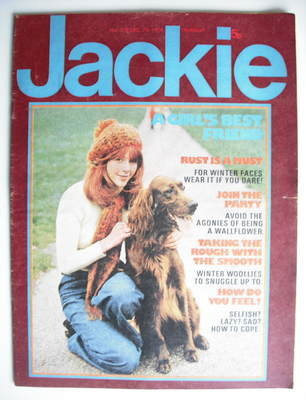 <!--1974-12-07-->Jackie magazine - 7 December 1974 (Issue 570)
