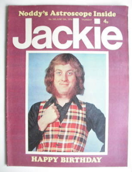 Jackie magazine - 15 June 1974 (Issue 545 - Noddy Holder cover)