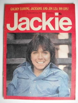 Jackie magazine - 2 March 1974 (Issue 530 - David Cassidy cover)