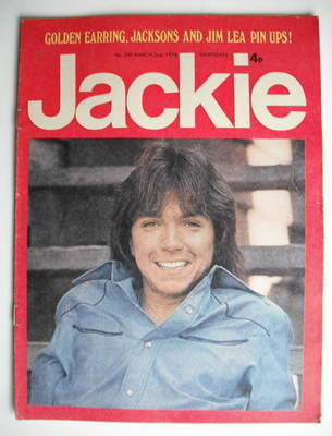 <!--1974-03-02-->Jackie magazine - 2 March 1974 (Issue 530 - David Cassidy