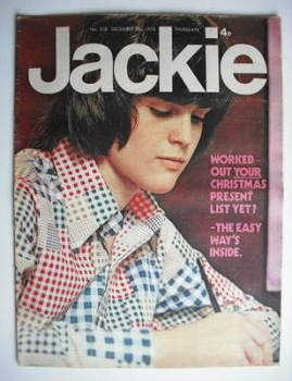 Jackie magazine - 8 December 1973 (Issue 518 - Donny Osmond cover)