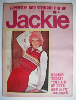 Jackie magazine - 1 December 1973 (Issue 517)