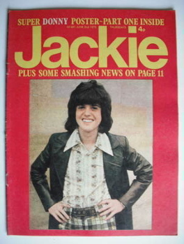 Jackie magazine - 2 June 1973 (Issue 491 - Donny Osmond cover)
