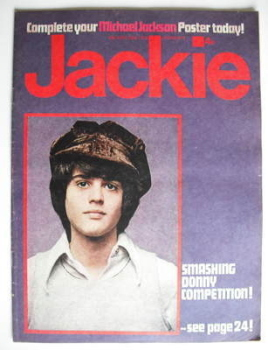 Jackie magazine - 28 April 1973 (Issue 486 - Donny Osmond cover)