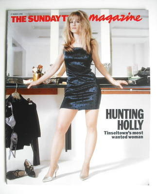 <!--1996-03-17-->The Sunday Times magazine - Holly Hunter cover (17 March 1