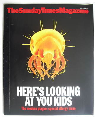 <!--1997-10-19-->The Sunday Times magazine - Here's Looking At You Kids cov