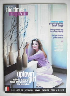 <!--1999-07-10-->The Times magazine - Natascha McElhone cover (10 July 1999