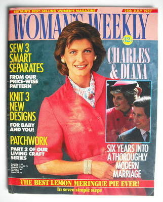 <!--1987-07-25-->Woman's Weekly magazine (25 July 1987 - British Edition)