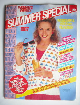 <!--1987-08-->Woman's Weekly magazine (Summer Special 1987 - British Editio