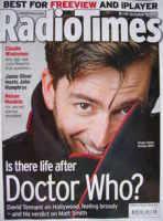 <!--2010-10-09-->Radio Times magazine - David Tennant cover (9-15 October 2010)
