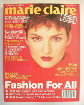 British Marie Claire magazine - October 1994
