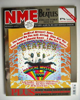 <!--2009-09-12-->NME magazine - The Beatles cover (12 September 2009 - Limi