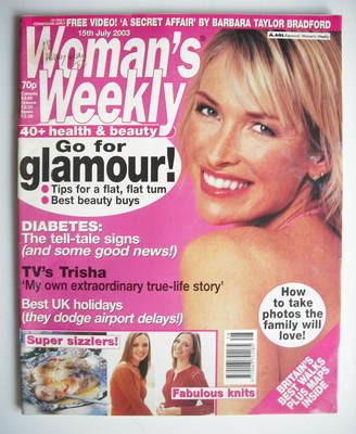 <!--2003-07-15-->Woman's Weekly magazine (15 July 2003)