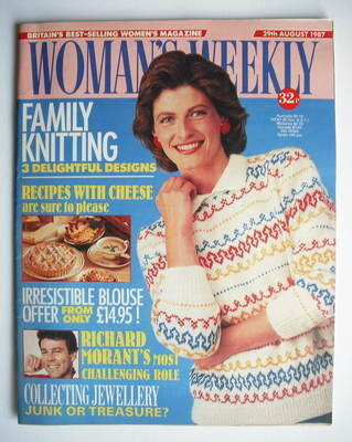 <!--1987-08-29-->Woman's Weekly magazine (29 August 1987 - British Edition)